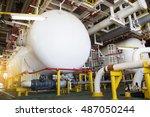production separator on... | Shutterstock . vector #487050244