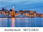 Stockholm City Illuminated Wit...
