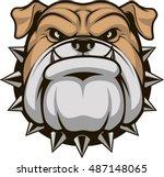 vector illustration head... | Shutterstock .eps vector #487148065