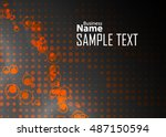 color abstract template for... | Shutterstock .eps vector #487150594