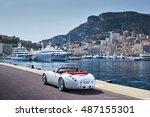 monaco  monte carlo  6 april... | Shutterstock . vector #487155301
