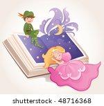 fairy tale kids | Shutterstock .eps vector #48716368
