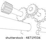 3d transmition | Shutterstock .eps vector #48719536