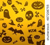 halloween 9 | Shutterstock . vector #487208755