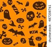 halloween 6 | Shutterstock . vector #487208761