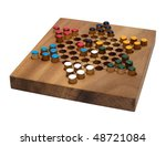 Chinese Checkers Wooden Board...