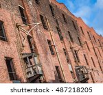 Old Victorian Warehouse Along...