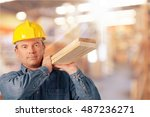 construction worker.   Shutterstock . vector #487236271