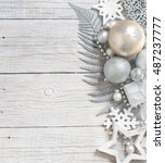 Silver And Cream Christmas...