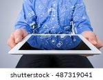 marketing. | Shutterstock . vector #487319041