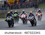 sachsenring   germany  july 17  ... | Shutterstock . vector #487322341