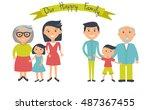 Happy Family Illustration....
