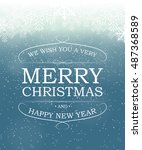 abstract beauty christmas and... | Shutterstock . vector #487368589