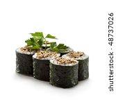 Unagi Maki   Smoked Eel Sushi...