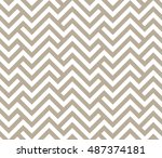 abstract geometric pattern with ... | Shutterstock .eps vector #487374181