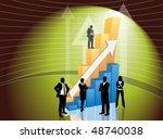 business people | Shutterstock .eps vector #48740038