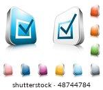 website buttons | Shutterstock .eps vector #48744784