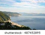 view of strait of messina seen... | Shutterstock . vector #487452895