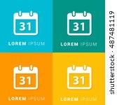 31st calendar four color...