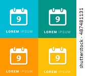 9th calendar four color...
