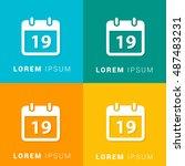 19th calendar four color...