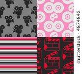pop art seamless patterns  ... | Shutterstock .eps vector #4874842