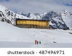 portillo  chile   september... | Shutterstock . vector #487496971
