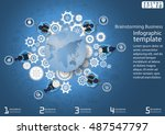 vector illustration... | Shutterstock .eps vector #487547797