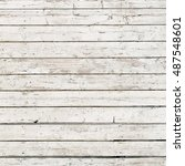 wooden planks background. | Shutterstock . vector #487548601