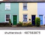 English Colourful Terraced...