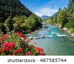 Gorges Du Verdon   River In...