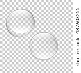 transparent bubbles vector