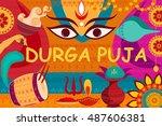 vector illustration of happy...   Shutterstock .eps vector #487606381