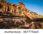world heritage kamphaeng phet... | Shutterstock . vector #487775665