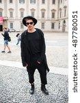 milan  italy   september 22 ... | Shutterstock . vector #487780051