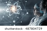 innovative technologies in... | Shutterstock . vector #487804729