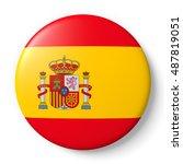 spain flag | Shutterstock . vector #487819051