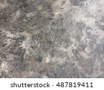 abstract old concrete...   Shutterstock . vector #487819411