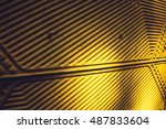 stained abstract vintage... | Shutterstock . vector #487833604