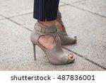 milan  italy   september 22 ... | Shutterstock . vector #487836001