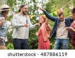 leisure  holidays  fun and... | Shutterstock . vector #487886119