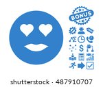 lady love pictograph with bonus ... | Shutterstock .eps vector #487910707