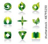 Vector Green Color Icon