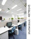 office work place | Shutterstock . vector #48798145