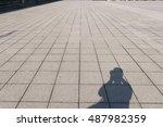 Shadow Of Tourist Photographer...