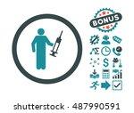 drug dealer icon with bonus...