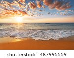 shoot in the morning with... | Shutterstock . vector #487995559