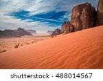 Sand Dunes In Wadi Rum Desert ...