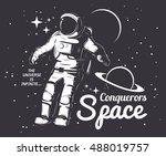 traveler universe. universe... | Shutterstock .eps vector #488019757