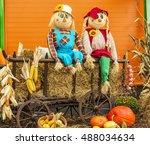 Autumn Decor.scarecrows And...